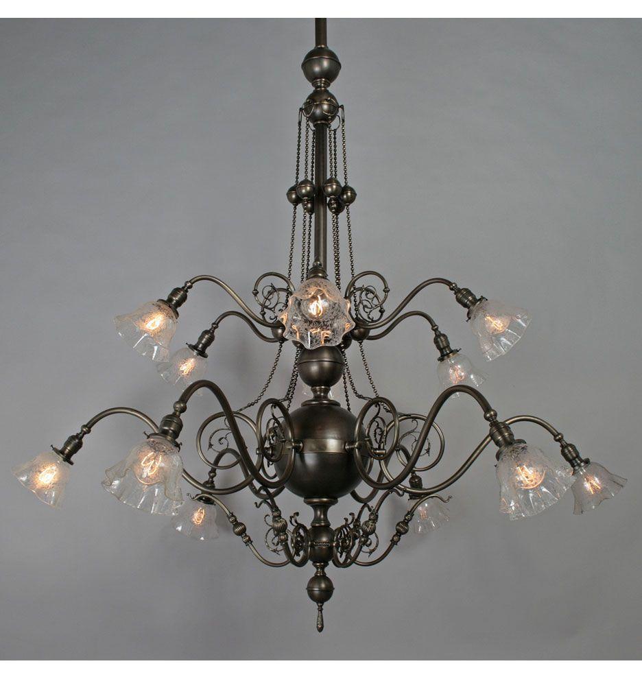 12 light commercial chandelier c1905 accessories pinterest 12 light commercial chandelier c1905 arubaitofo Choice Image