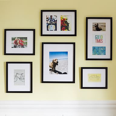 Gallery In A Box Set of 6, Espresso | Gallery frame set, Frame ...