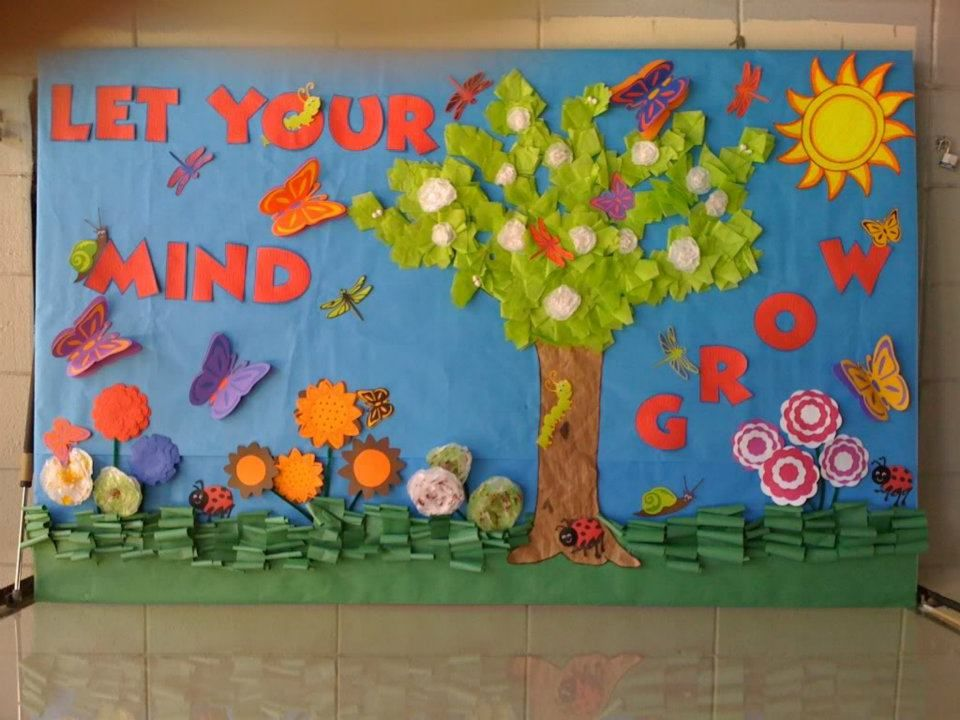 decorating ideas spring bulletin boards classroom ideas - Classroom Decorating Ideas