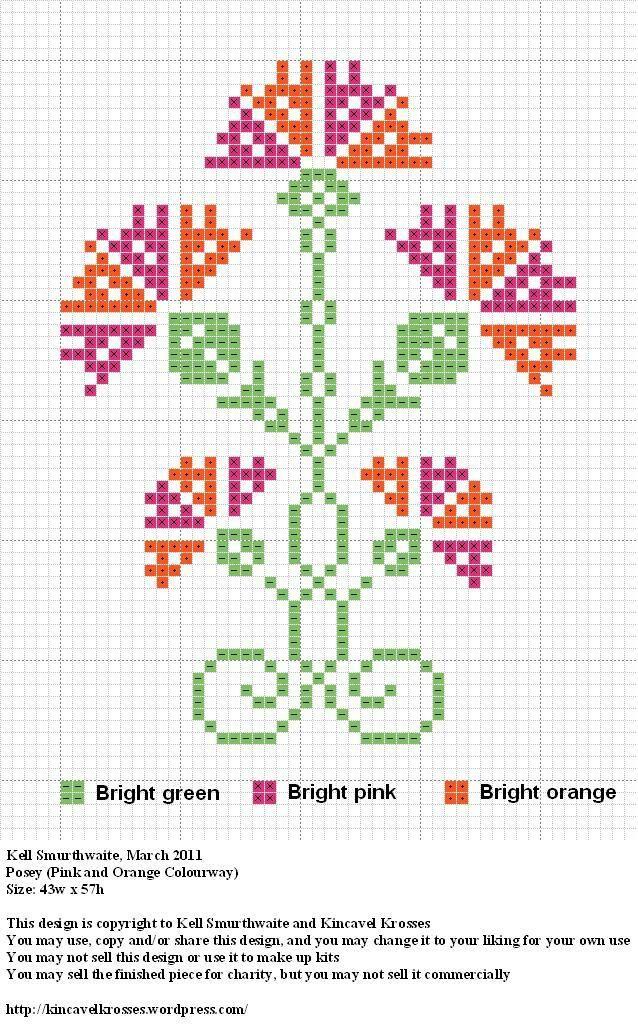 Posey2 | Tenek bordado | Pinterest | Punto de cruz, Bordado y Puntos