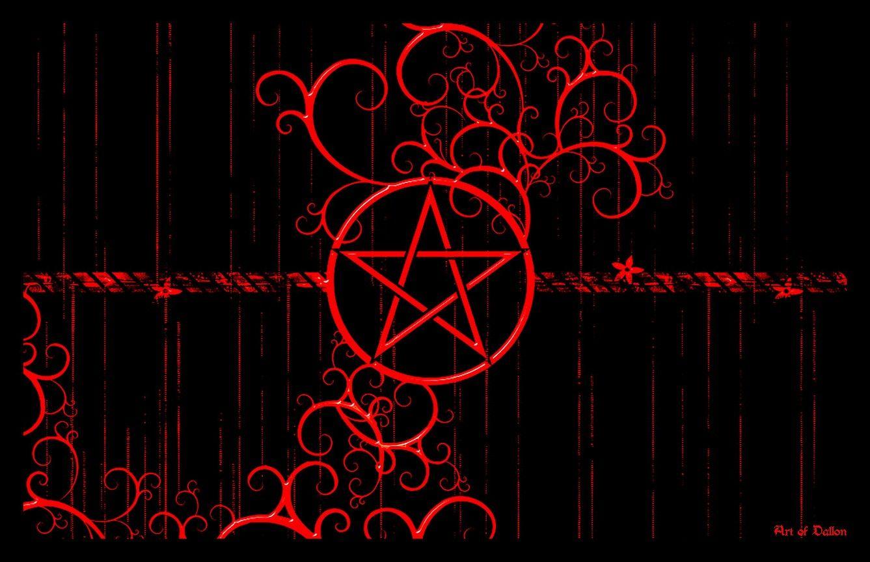 Fantasy_Pentacle Satan, Pentagram, Free desktop wallpaper