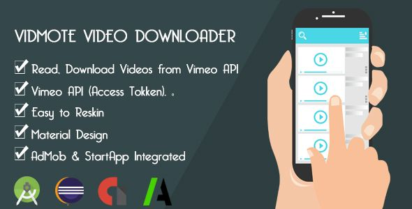awesome VidMote Video Downloader (Complete Applications