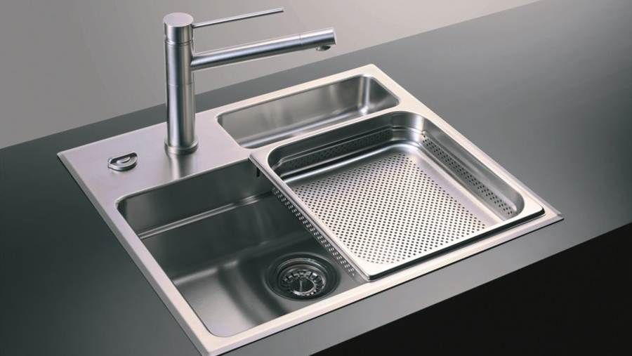 Image Of Stainless Steel Kitchen Sinks Reviews With Images Modern Kitchen Sinks Kitchen Sink Design Sink