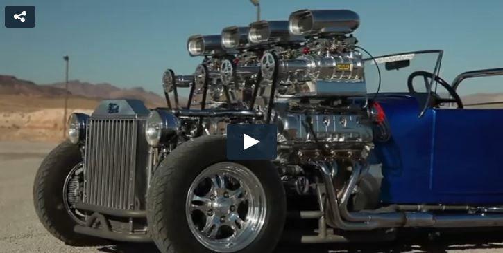 VIDÉO: Le hot rod le plus radical de l'histoire de l'auto!  http://www.iconthriftmaster.com/