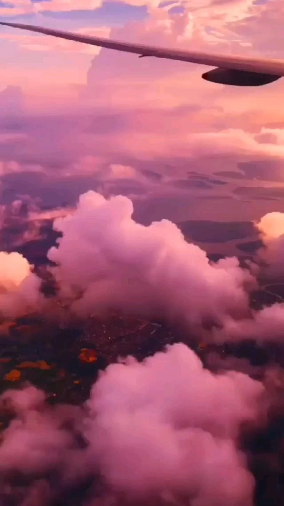 Top of the majestic clouds