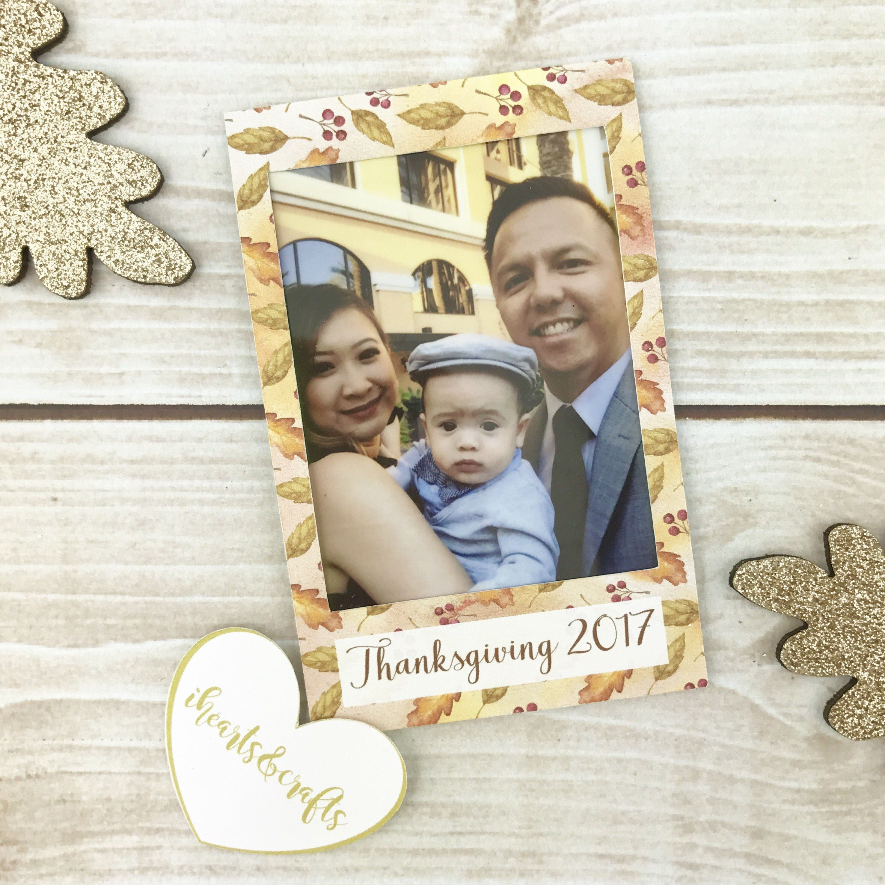 Thanksgiving Party Favors Holiday Stickers For Your Instax Films Thanksgiving