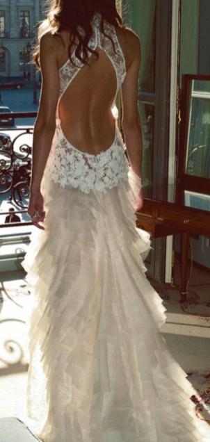Used Other Cymbeline Paris Gaya Fay Wedding Dress Size