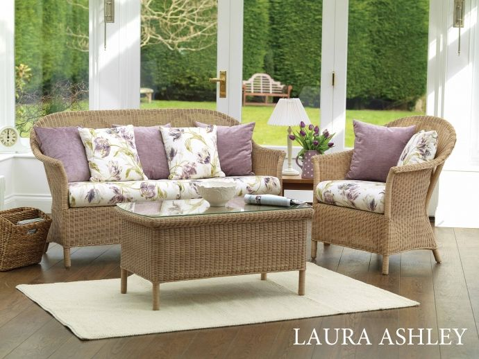 Harvest Brown Wash , Main Fabric: Gosford Plum Scatter Cushions ...