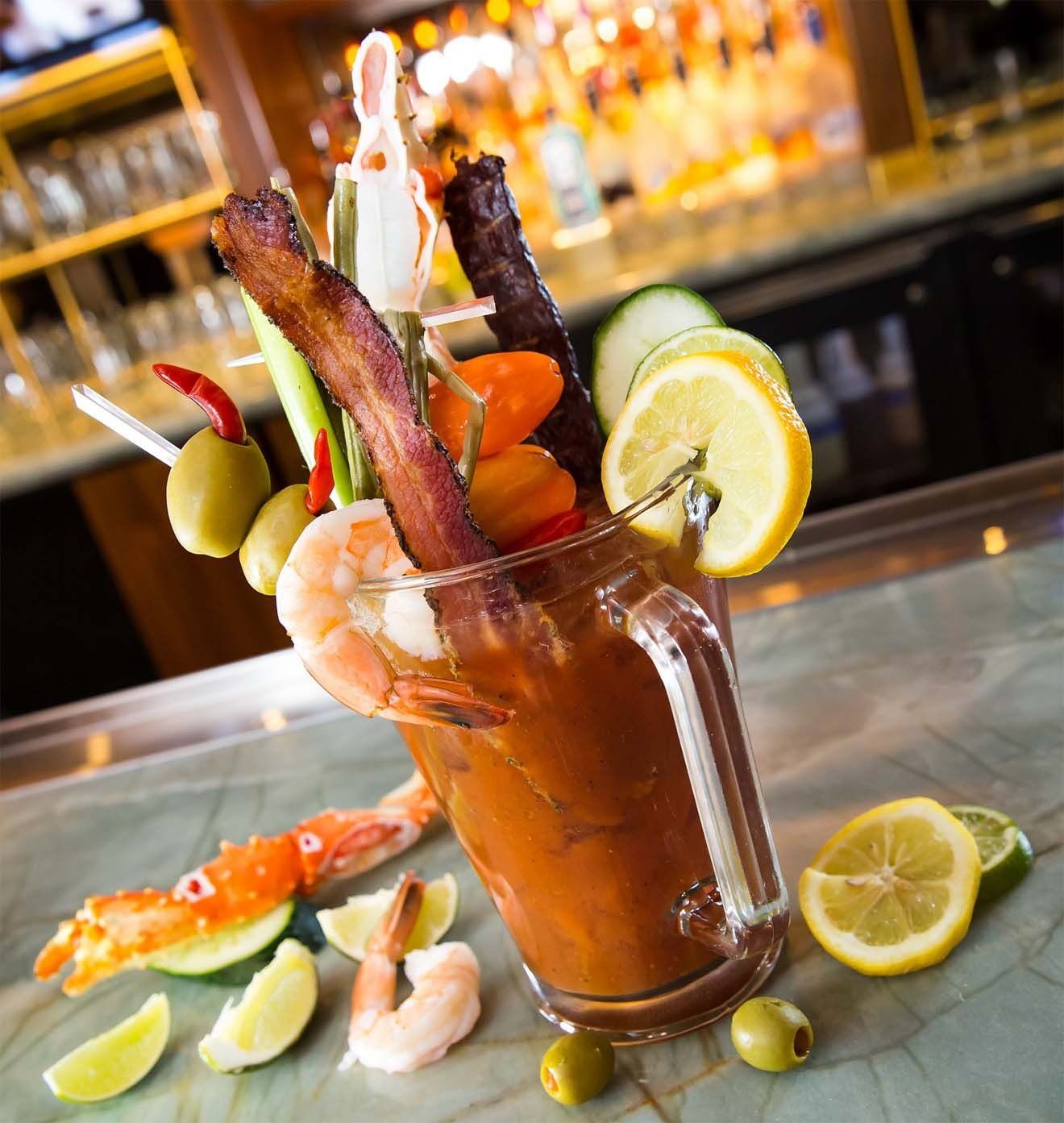 HEXX Kitchen U0026 Bar Las Vegas Colossal Bloody Mary