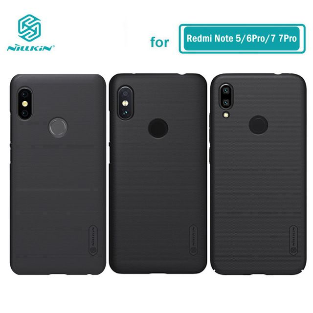 Xiaomi Redmi Note 7 Case Note 5 Cover Nillkin Frosted Pc Hard Back Case For Xiaomi Redmi Note 5 6 Pro Global Version Review Note 5 Cover Nillkin Note 7