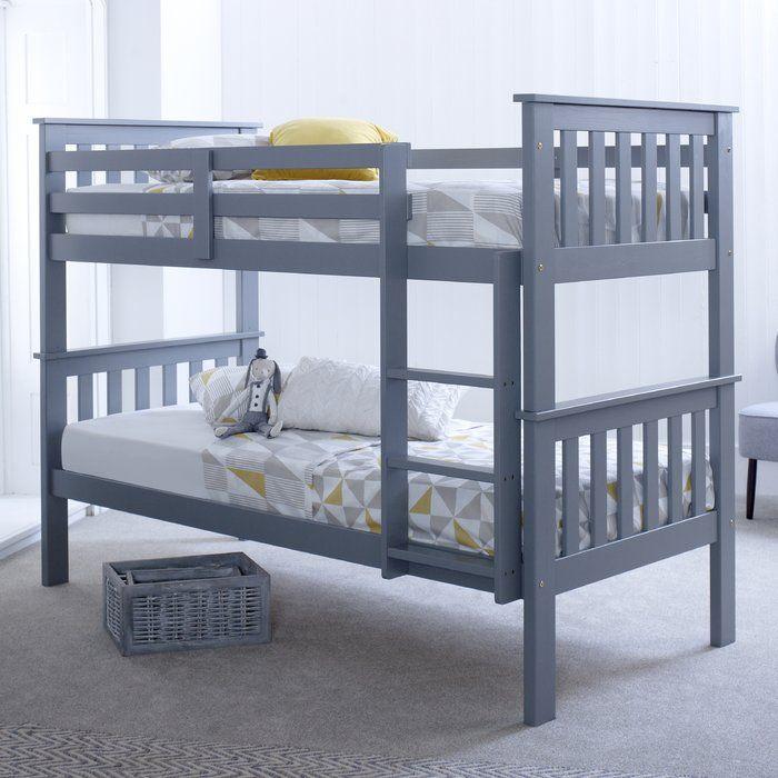 Best Aaron Single Bunk Bed In 2020 Wooden Bunk Beds Bunk 400 x 300