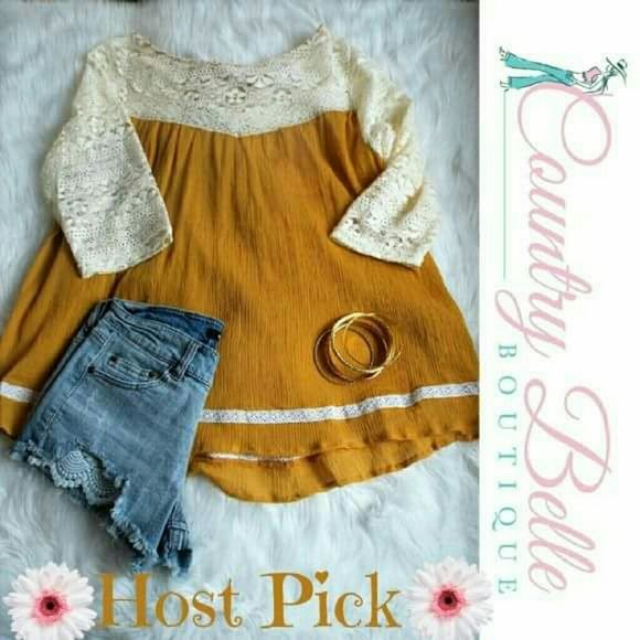 Host Pick  This is for the whole out fit Both items are a small. Shorts