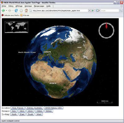 Exemple d'applet Java