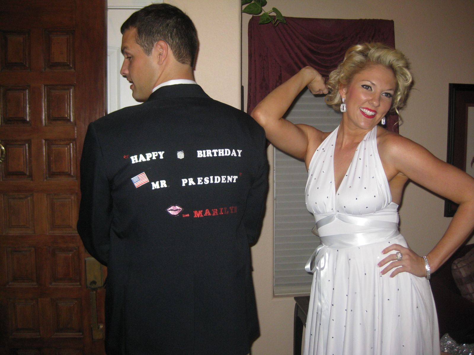 Marilyn and JFK costume | Costumes I made | Pinterest | Costumes ...