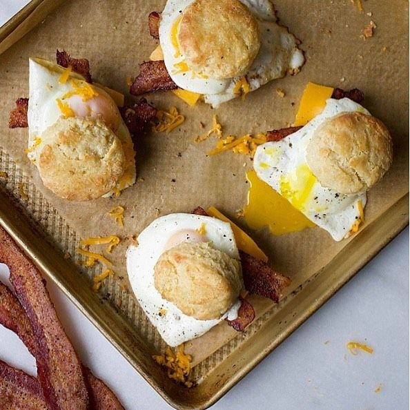 Easy Peezy Breakfast Scones from the Wood and Spoon Blog! Follow @eatmeafrica to watch the full rec