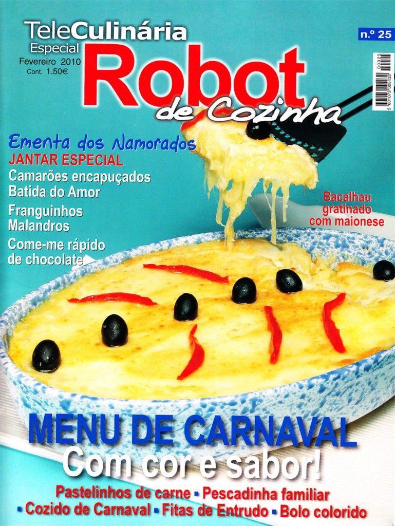 TeleCulinária Robot de Cozinha Nº 25 - Fevereiro 2010
