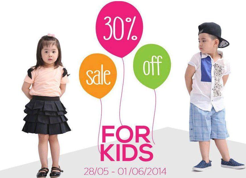 Khuyến mãi Thời trang Elise kids giảm giá 30% nhân ngày 1-6-2014