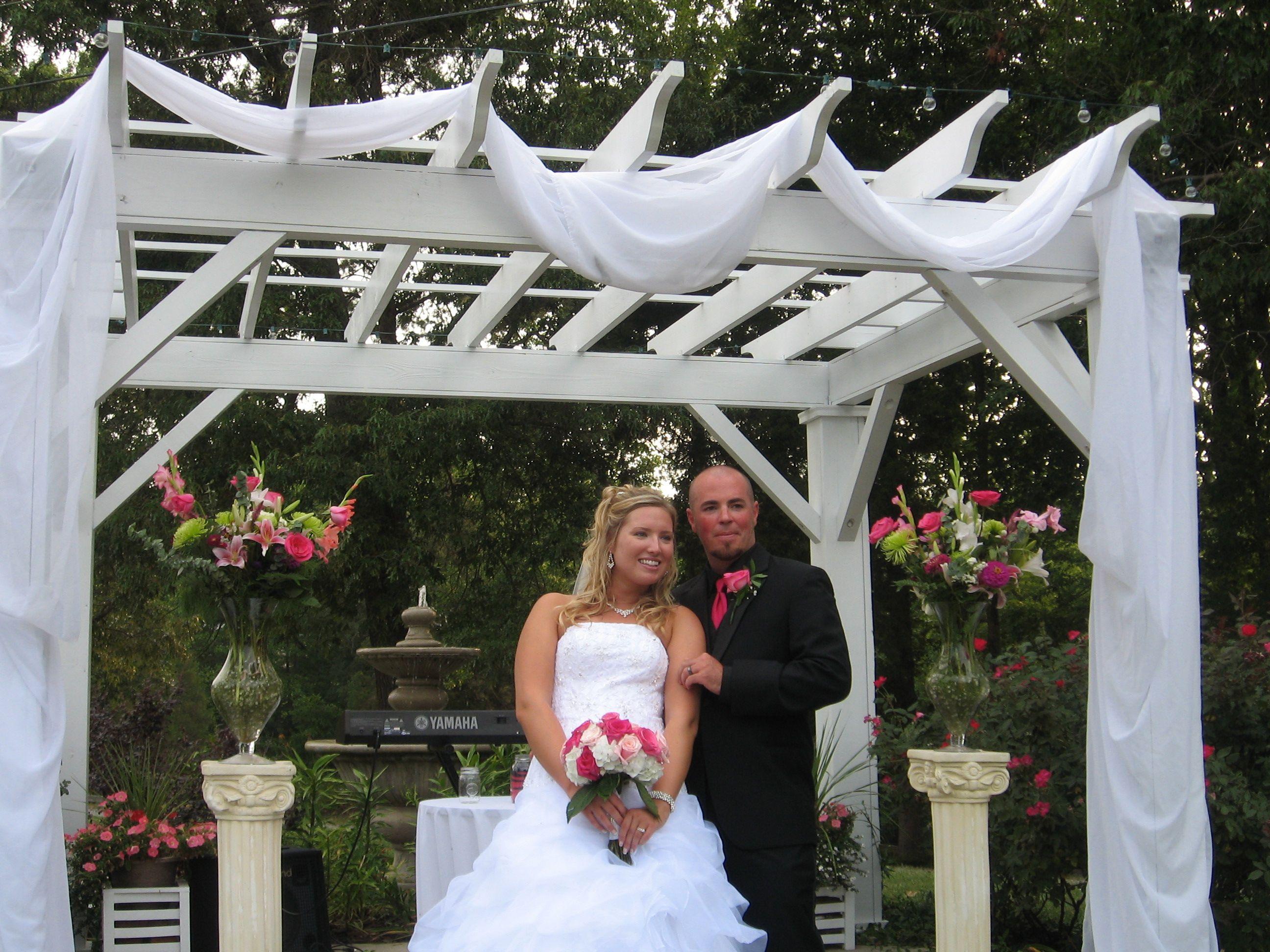 Outdoor Wedding At Dewberry Farm.