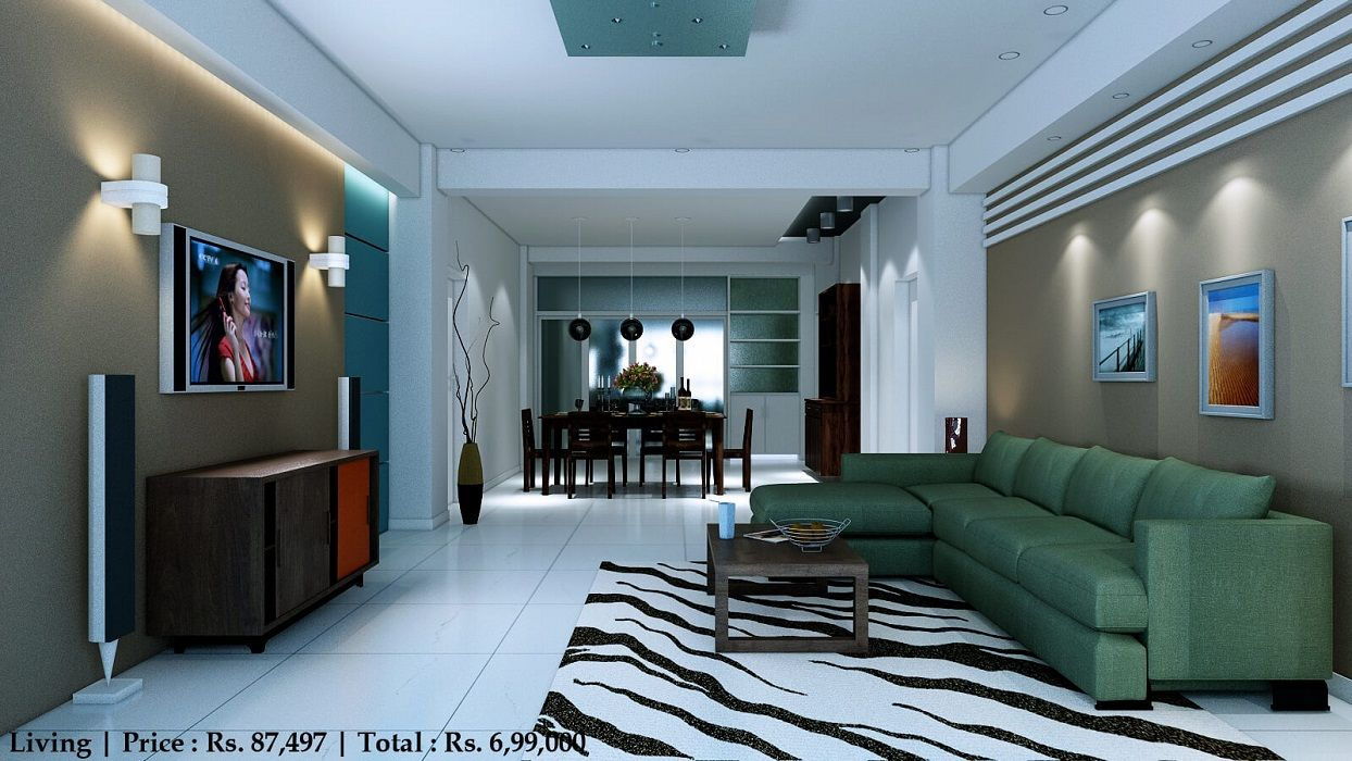 Book An Interior Designer To Decorate 3 Bhk Flat At An Affordable