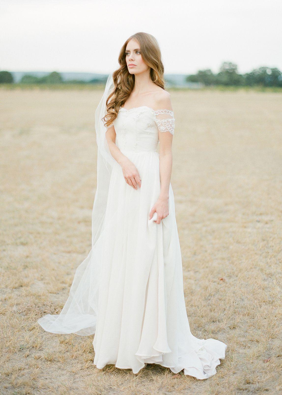 Wynter classic chapel length wedding veil wedding bells