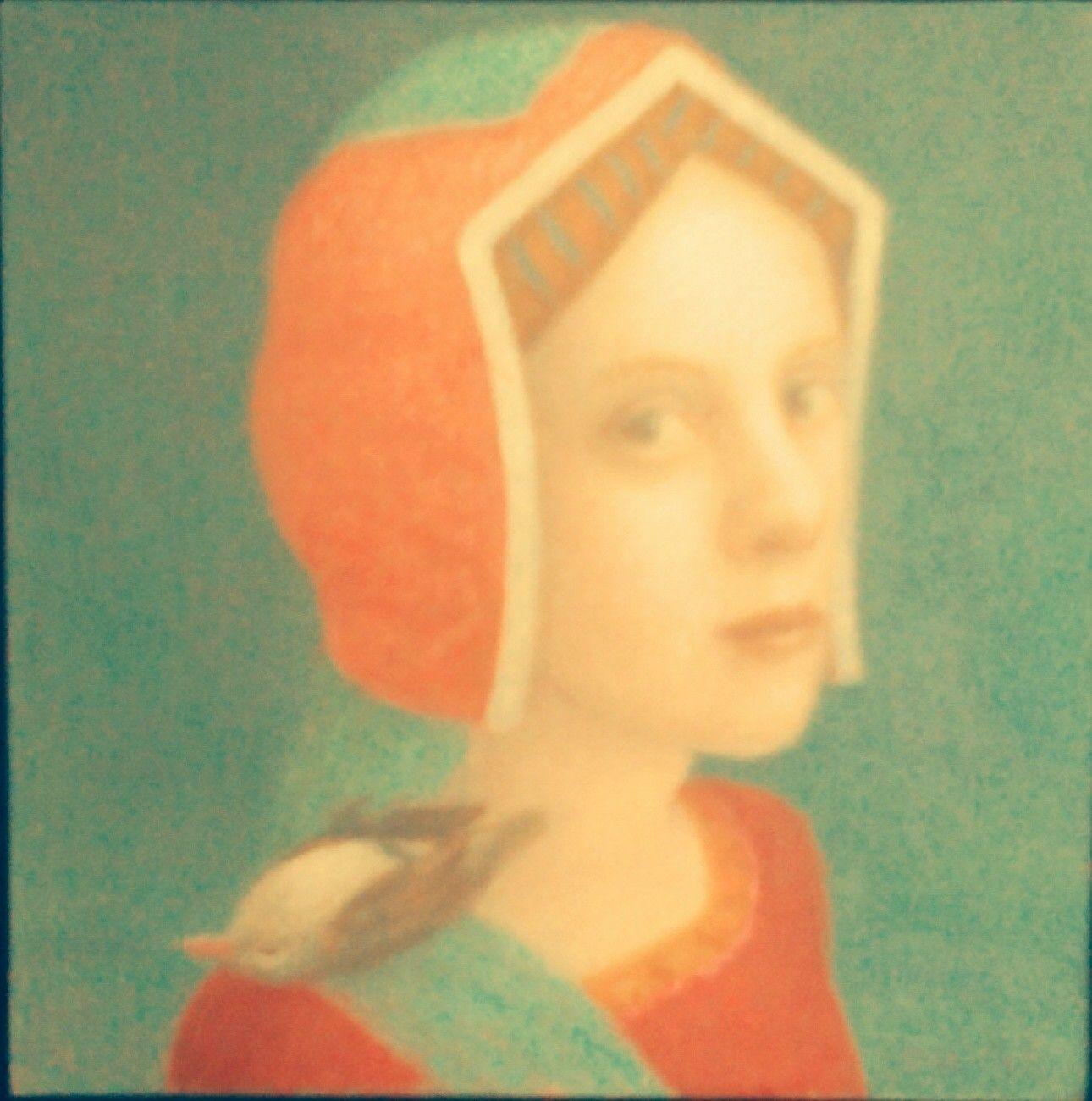 A painting by Marieloes Reek, dutch artist.