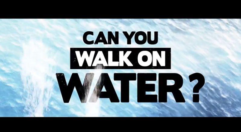 Can You Walk on Water? (Non-Newtonian Fluid Pool) | Waanka