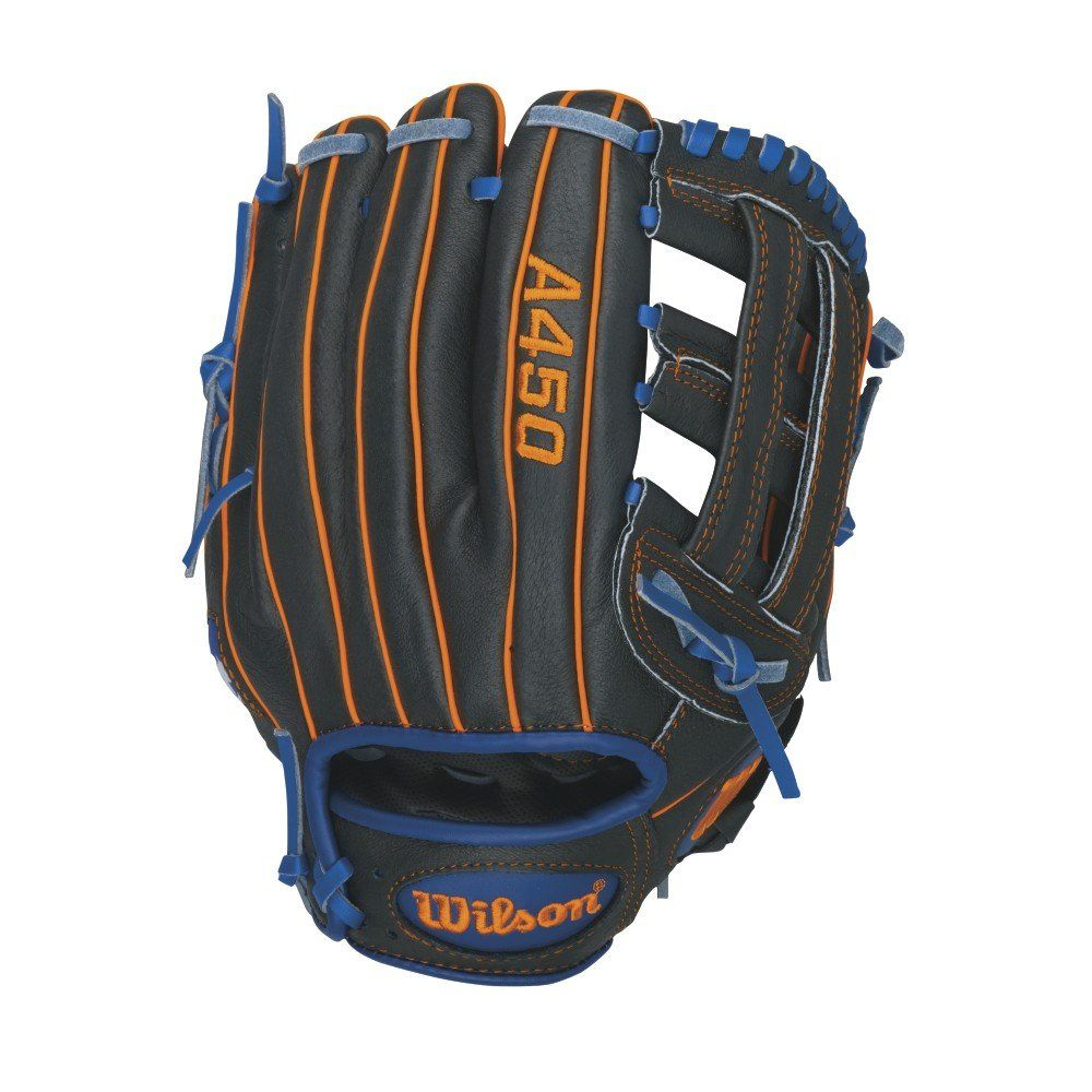 Wilson Advisory Staff David Wright Youth Baseball Glove Black Blue Orange Left Hand Throw 11 Inch Youth Baseball Gloves Baseball Glove Wilson Sporting Goods