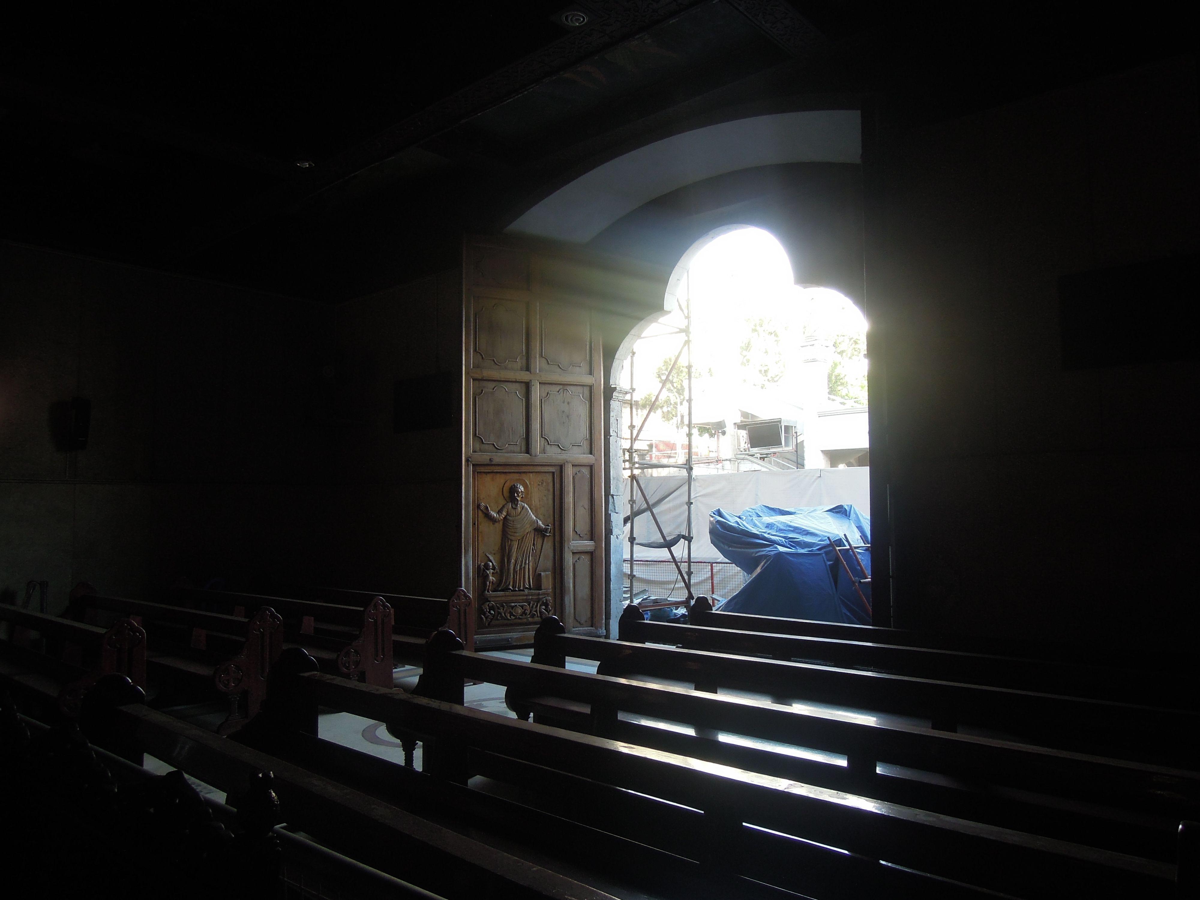 Entrance to Basílica Minore del Santo Niño de Cebu