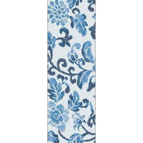 #Bisazza #Decorations Opus Romano Summer Flowers Blue A | Feinsteinzeug | im Angebot auf #bad39.de 766 Euro/Pckg. | #Mosaik #Bad #Küche