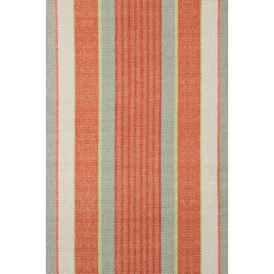 Dash And Albert Rugs Woven Orange Autumn Stripe Area Rug Wayfair