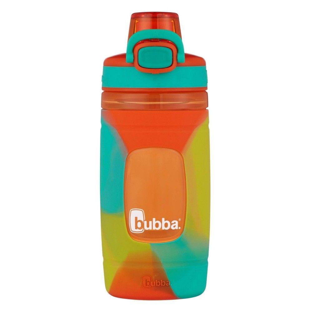 Bubba flo 16oz plasticsilicone tie dye water bottle