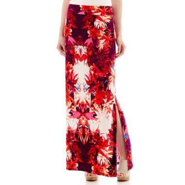 2971e5e3b4 a.n.a® Side-Slit Maxi Skirt found at @JCPenney | My Style | Skirts ...