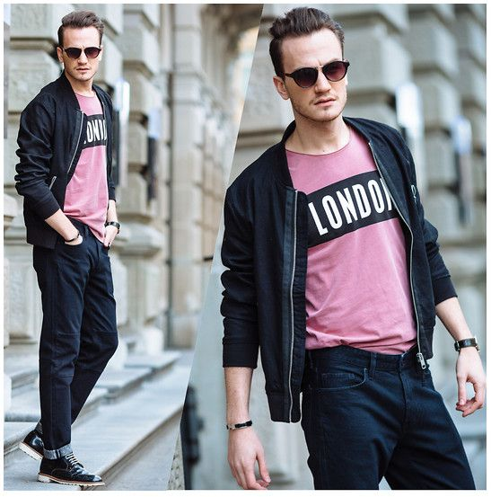 H&M Linen Bomber Jacket, H&M London Logo T Shirt #fashion #mensfashion #menswear #mensstyle #streetstyle #style #outfit #ootd