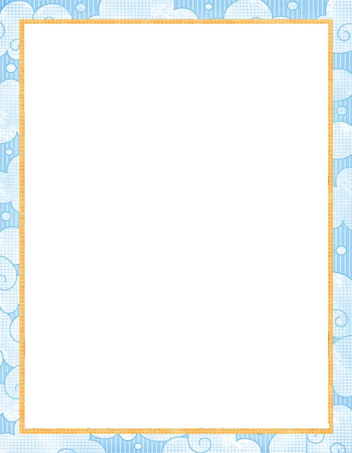 printable paper with baby borders Free printable baby stationery - free paper templates with borders
