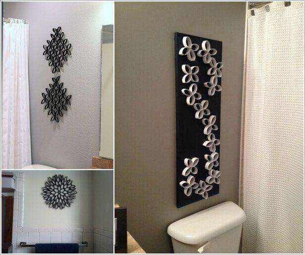 24 Beautiful Wall Art For Bathroom Decor In 2020 Diy Bathroom