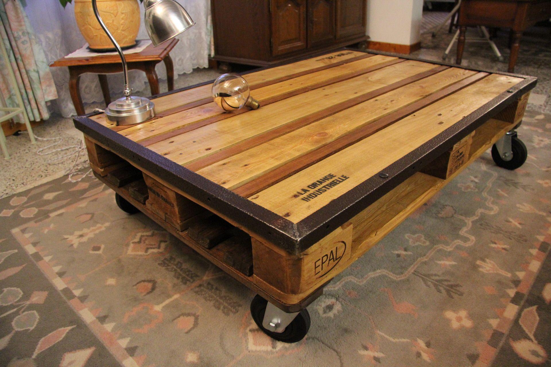 Table Basse Palette La Grange Industielle Production Meubles Et Rangements Par La Grange Industrielle Table Basse Palette Table Basse Table De Salon