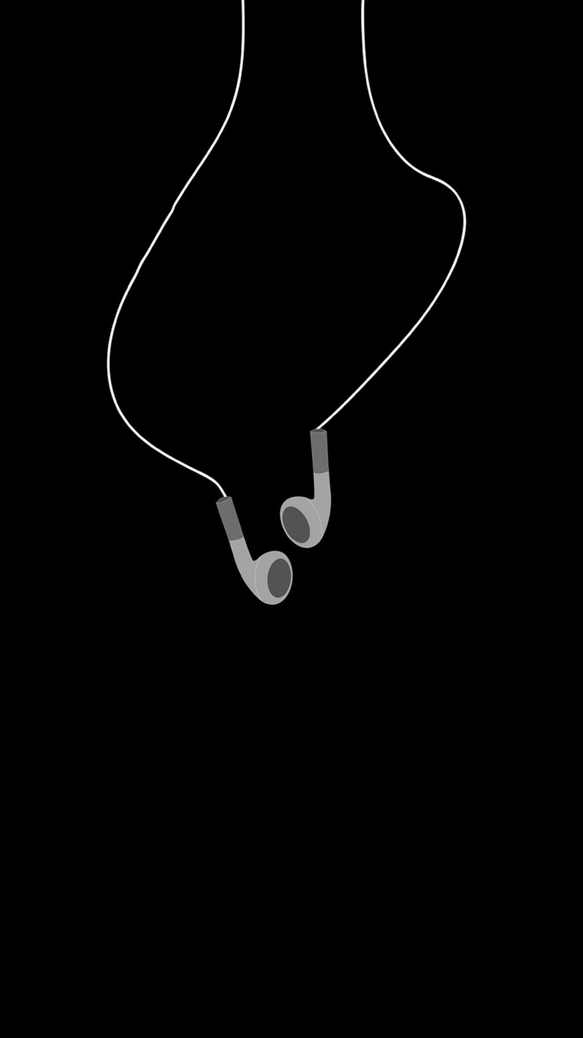 Headphones Wallpaper Black Wallpaper Iphone Black Aesthetic
