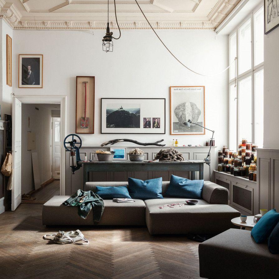 Rolf Benz - freistil 184 Lounge-Sofa im ikarus…design shop ...