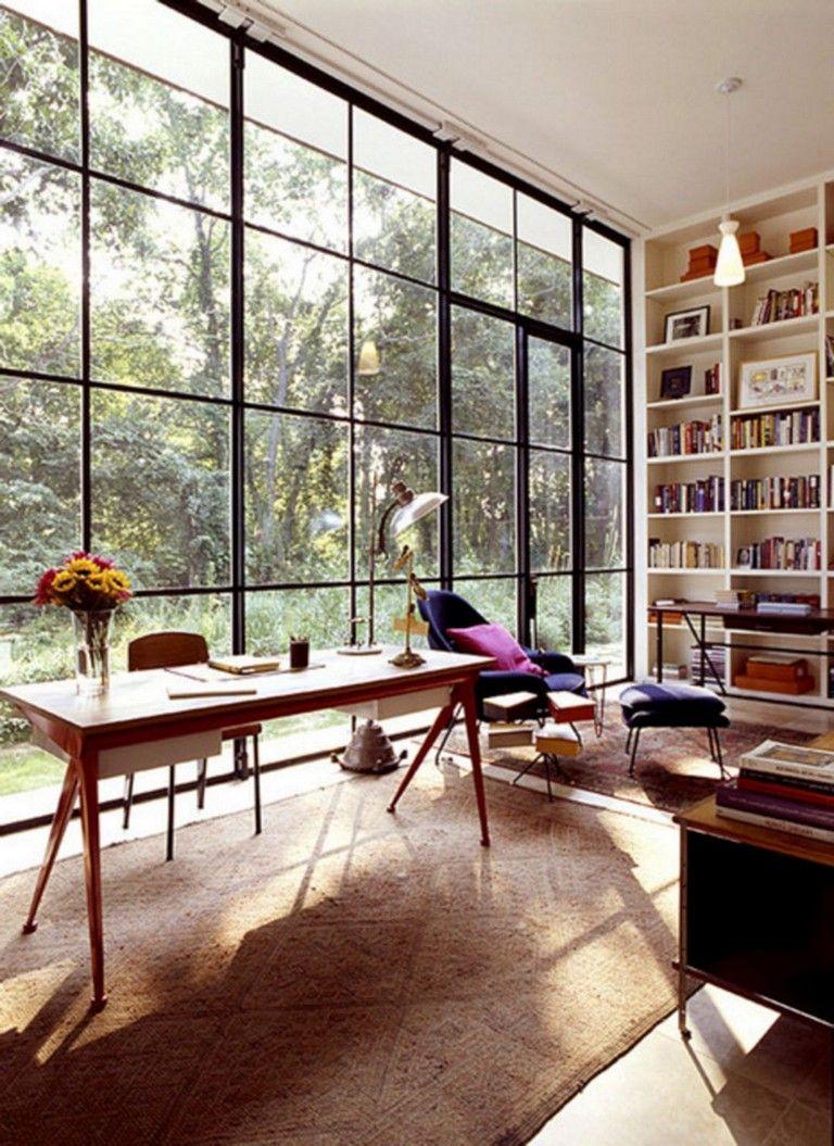 12+ Popular Home Office Window Design Ideas For Fun Work ...