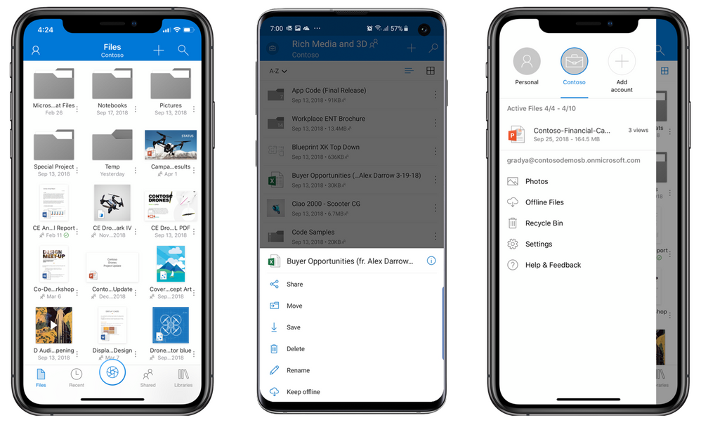 Top 5 benefits of the OneDrive mobile app Mobile app