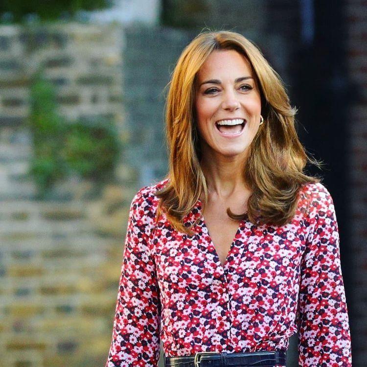8 5 19 The Duchess Looks Gorgeous Love The New Lighter Hair Kate Middleton Hair Duchess Kate Duchess Of Cambridge