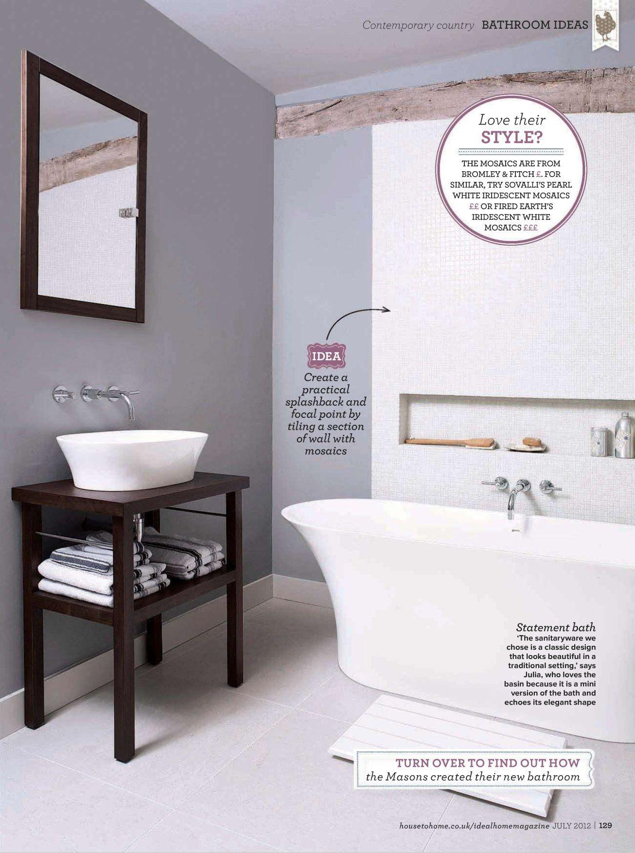 grey bathroom   Bathroom ideas   Pinterest   Grey bathrooms and House