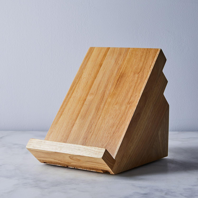Victorinox 13-Slot Swivel Knife Block with iPad & Cookbook Stand