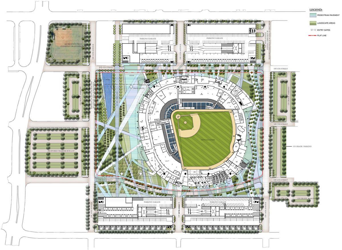 pin on world stadium plans
