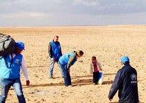 Boy, 4, found wandering desert alone.