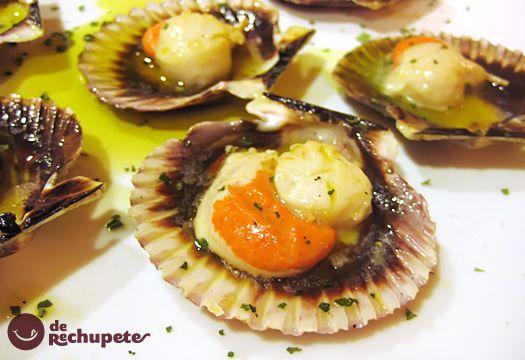 Cocinar Vieiras Plancha | Zamburinas A La Plancha Receta Planchas Lujos Y Domingo