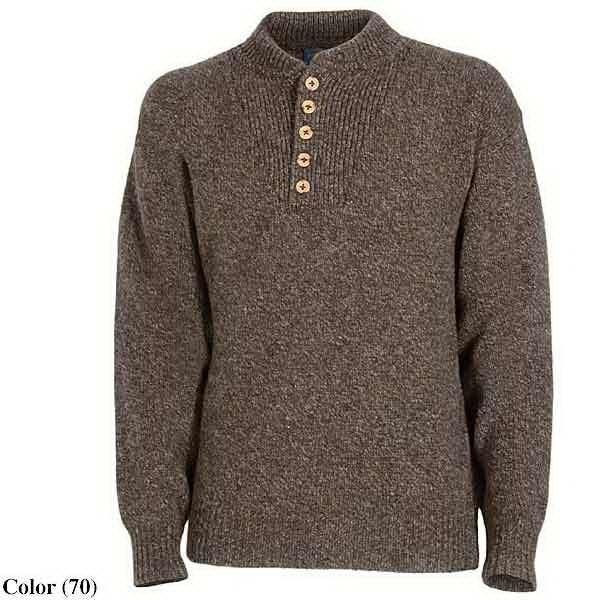 Heavy Wool Fatigue Sweater By Pendleton (for Men)