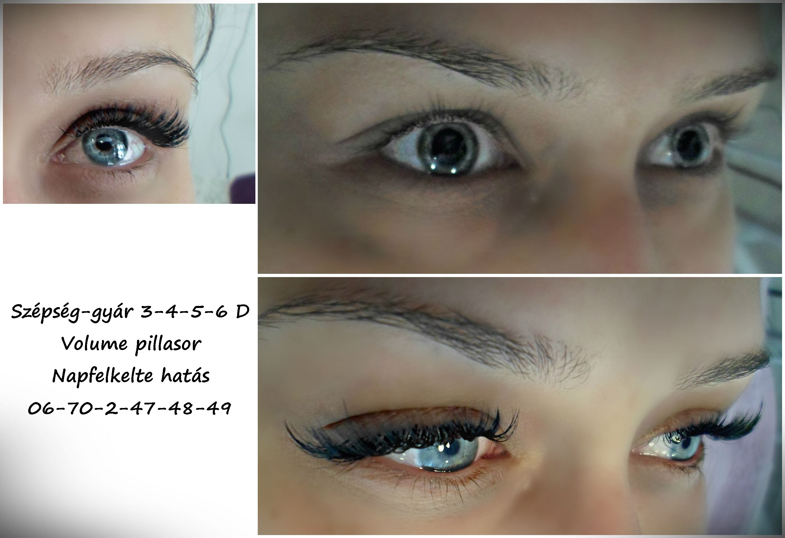 Eyelash extension Volume lashes