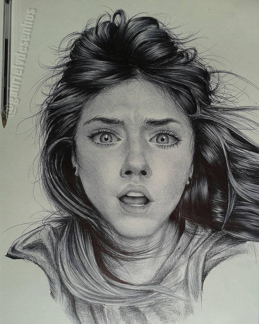 Her Eyes Spoke For Her Swipe Art By At Gabrielvdesenhos