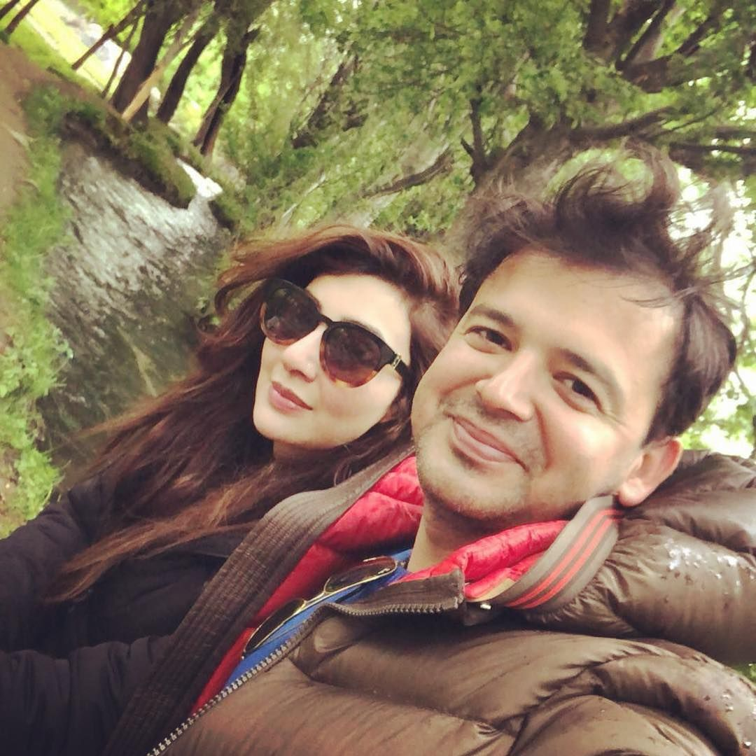 Aisha Khan Celebrating her 1st Wedding Anniversary with